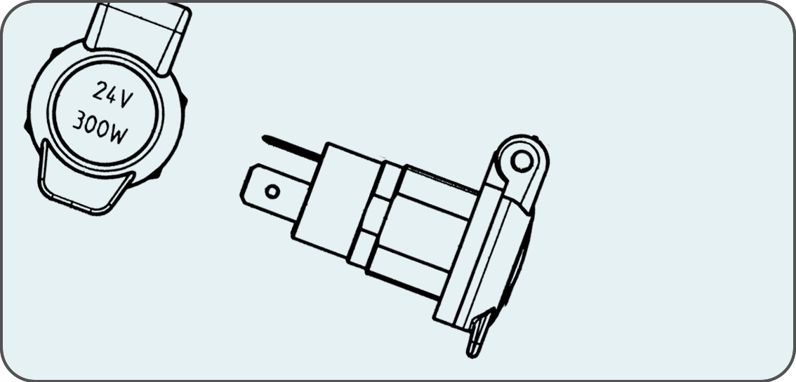 Socket according to ISO 4165